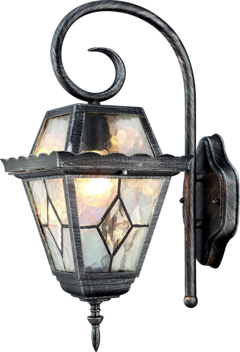 Светильник уличный Arte Lamp Paris. A1352AL-1BSA1352AL-1BSСветильник Arte Lamp Paris поможет создать у вашего дома атмосферу уюта и комфорта. Благодаря высококачественным материалам он практичен в использовании и отлично работает на протяжении долгого периода времени.Материал арматуры: металл. Материал плафонов: стекло. Количество источников света: 1. Мощность источника света: 75 Вт. Цоколь: E27. Напряжение: 220В.