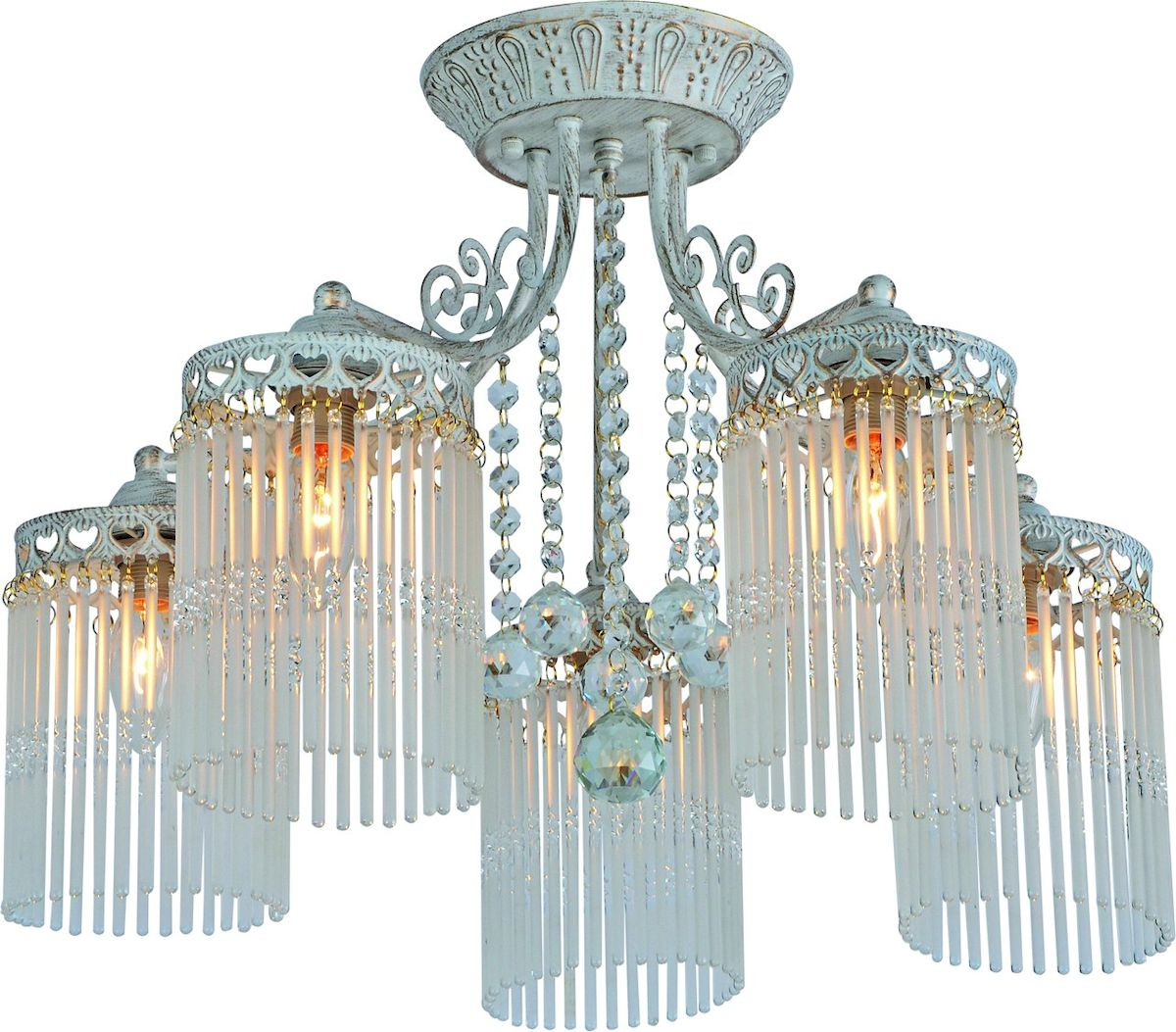 Светильник потолочный Arte Lamp TORRENTE A1678PL-5WGA1678PL-5WG