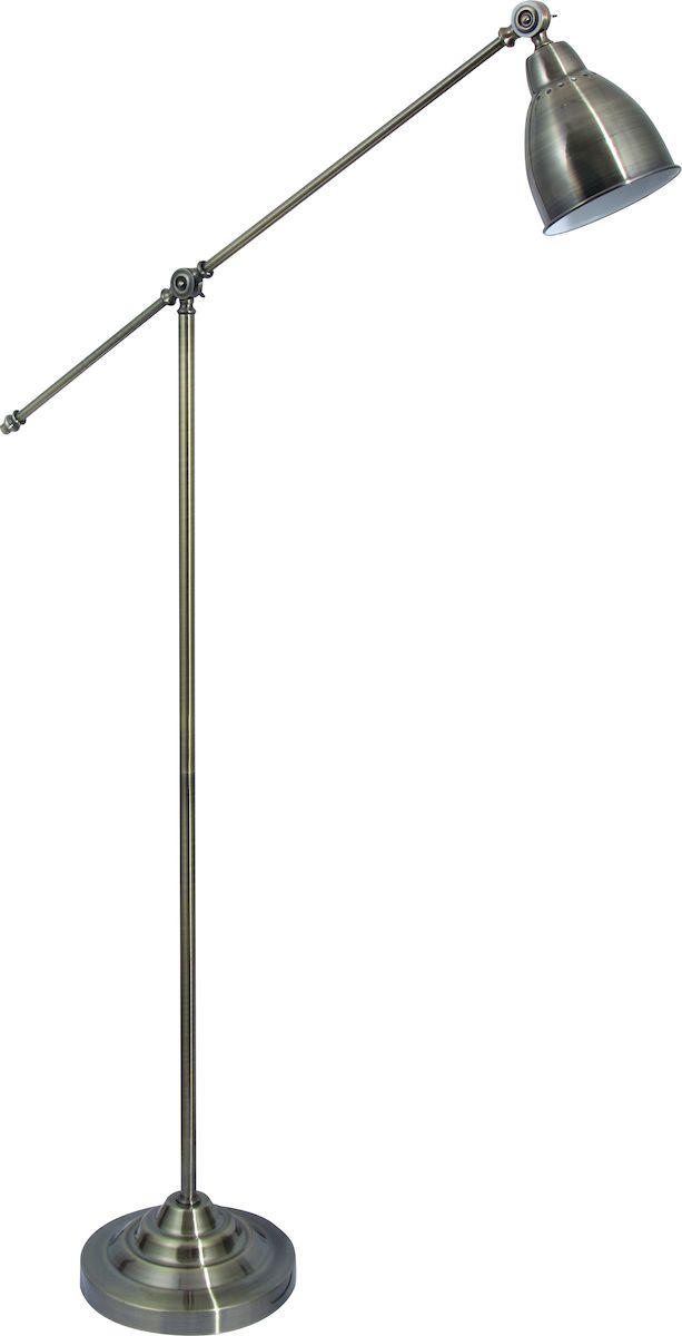 Светильник напольный Arte Lamp Braccio. A2054PN-1AB торшер 43 a2054pn 1ss arte lamp 1176958