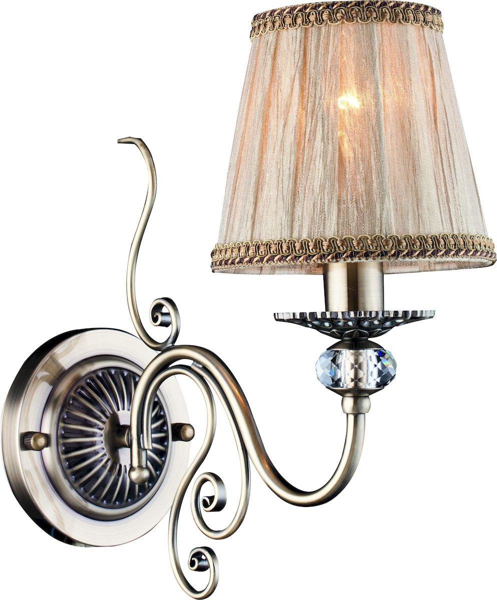 Светильник настенный Arte Lamp CHARM A2083AP-1ABA2083AP-1AB