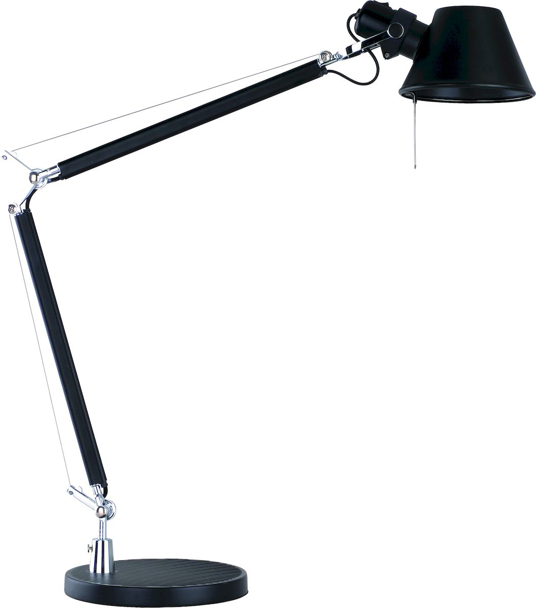 Светильник настольный Arte Lamp AIRONE A2098LT-1BKA2098LT-1BK