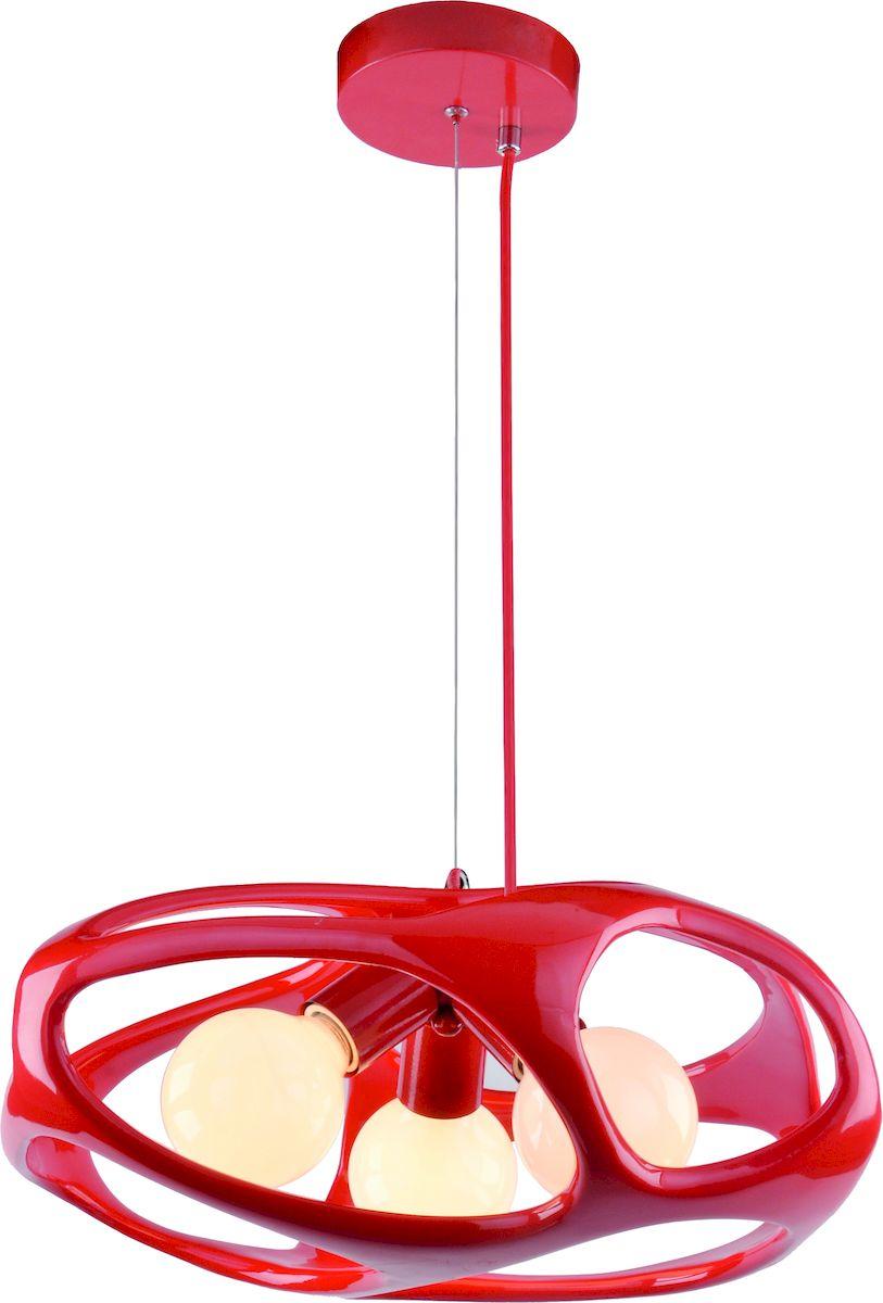 Светильник подвесной Arte Lamp Mars. A3003SP-3RDA3003SP-3RDСветильник Arte Lamp поможет создать в вашем доме атмосферу уюта и комфорта. Благодаря высококачественным материалам он практичен в использовании и отлично работает на протяжении долгого периода времени.