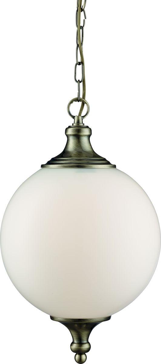 Светильник подвесной Arte Lamp Rimini. A3051SP-1ABA3051SP-1ABСветильник Arte Lamp Rimini поможет создать в вашем доме атмосферу уюта и комфорта. Благодаря высококачественным материалам он практичен в использовании и отлично работает на протяжении долгого периода времени. Длина цепи: 51 см (укорачивается). Высота до цепи: 40 см. Лампы: 1xE27; 1x40W. Тип крепления: скоба на шурупах.