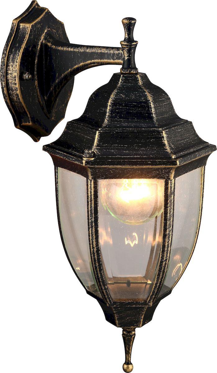 Светильник уличный Arte Lamp Pegasus. A3152AL-1BNA3152AL-1BNСветильник Arte Lamp Pegasus поможет создать в вашем доме атмосферу уюта и комфорта. Благодаря высококачественным материалам он практичен в использовании и отлично работает на протяжении долгого периода времени. Материал арматуры: металл.Материал плафонов: пластик.Количество источников света: 1.Мощность источника света: 60 Вт.Цоколь: E27.Напряжение: 220В.Площадь освещения: 2 м2.