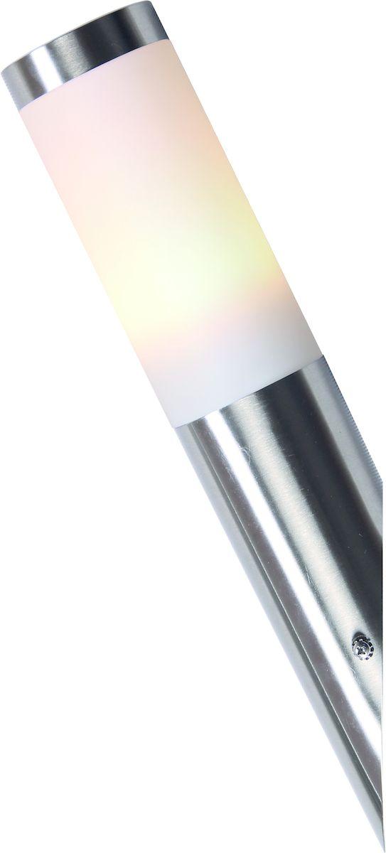 Светильник уличный Arte Lamp Salire. A3157AL-1SSA3157AL-1SSУличный светильник Arte Lamp Salire поможет создать в вашем придомовом участке атмосферу уюта и комфорта. Благодаря высококачественным материалам он практичен в использовании и отлично работает на протяжении долгого периода времени. Светильник-столбик в современном стиле предназначен для освещения пространства на улице.