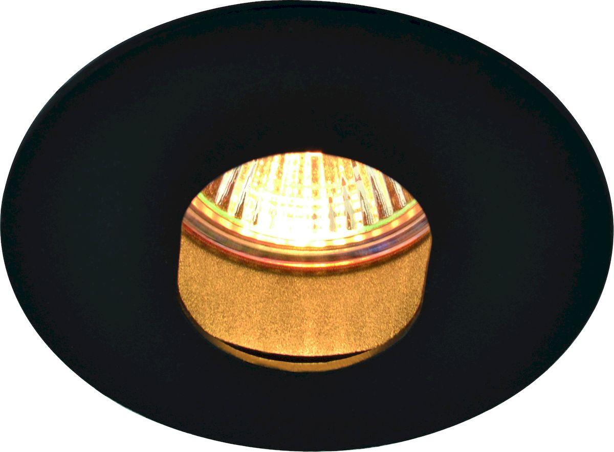 Светильник потолочный Arte Lamp ACCENTO A3219PL-1BK встраиваемый светильник arte lamp accento a3219pl 1wh