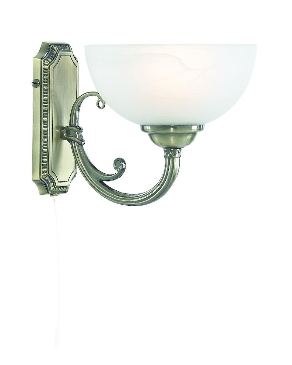 Светильник настенный Arte Lamp Windsor White A3777AP-1AB светильник настенный arte lamp a2313ap 1ab