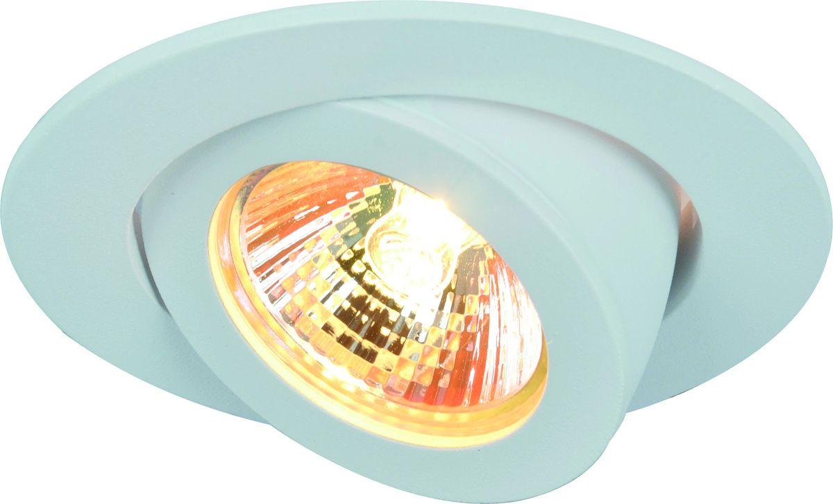 Светильник потолочный Arte Lamp ACCENTO A4009PL-1WH встраиваемый спот точечный светильник arte lamp accento a3219pl 1ss