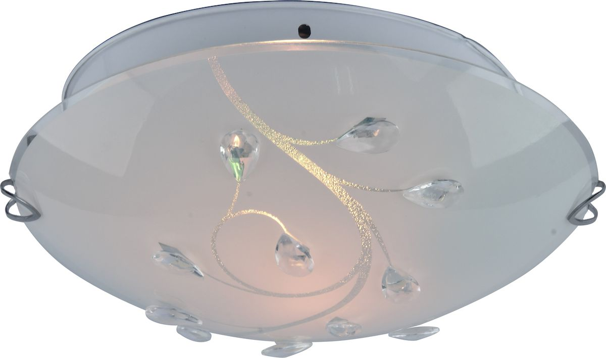 Светильник потолочный Arte Lamp Jasmine. A4040PL-2CCA4040PL-2CCСветильник Arte Lamp Jasmine поможет создать в вашем доме атмосферу уюта и комфорта.Благодаря высококачественным материалам он практичен в использовании и отлично работаетна протяжении долгого периода времени.Материал арматуры: металл. Материал плафонов: стекло. Количество источников света: 2. Мощность источника света: 60 Вт. Цоколь: E27. Напряжение: 220В.