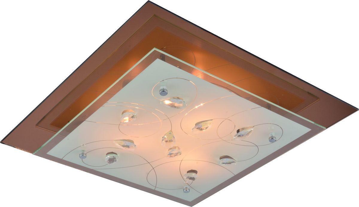 Светильник потолочный Arte Lamp TianaA4042PL-3CCНастенно-потолочные светильники – это универсальные осветительные варианты, которые подходят для вертикального и горизонтального монтажа. Настенно-потолочный светильник Arte Lamp Tiana, выполненный из металла, станет прекрасным дополнением к основному освещению. Благодаря качественному исполнению и применению современных технологий при производстве эта модель будет радовать вас своим привлекательным внешним видом долгое время.