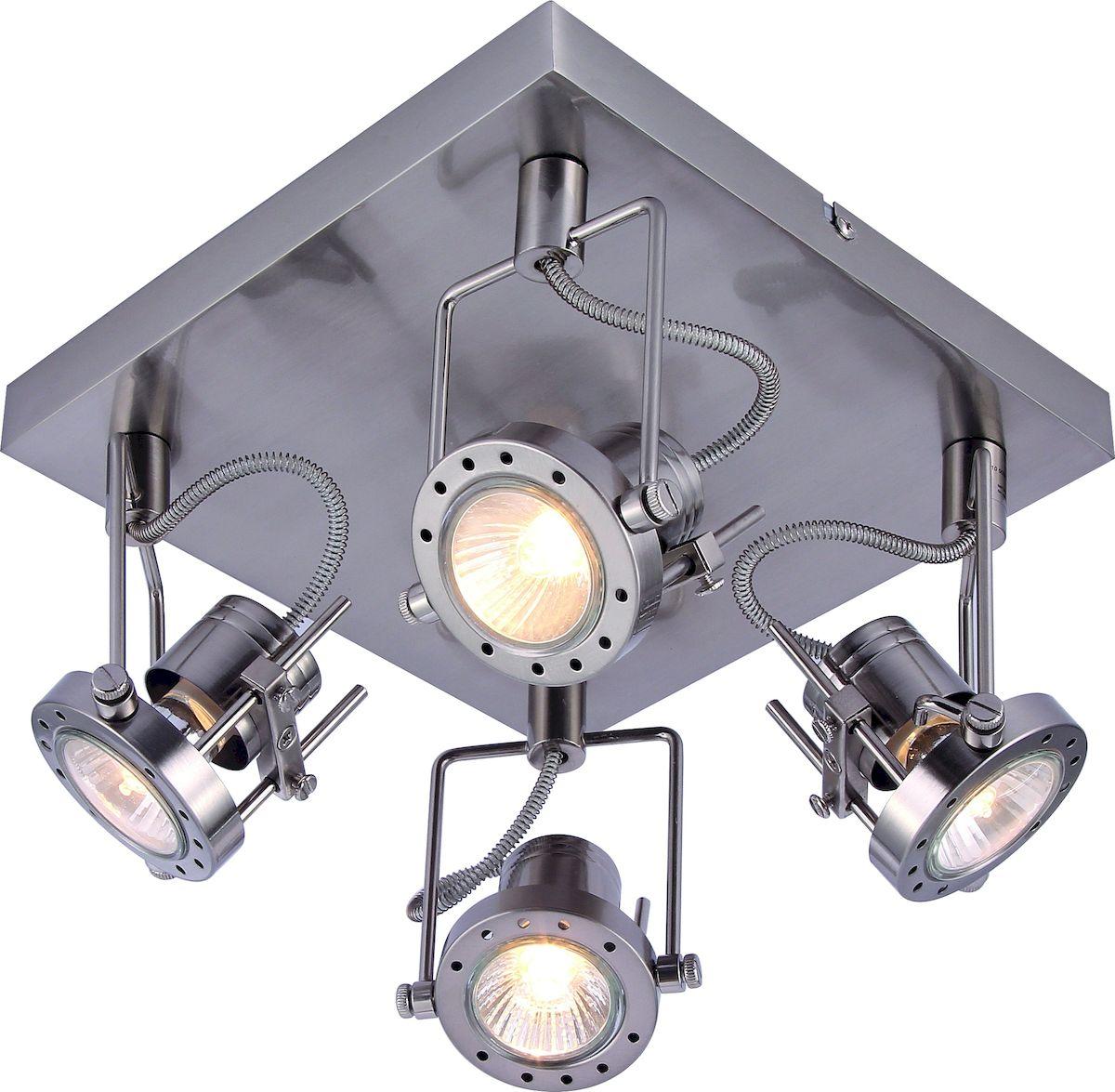 Светильник потолочный Arte Lamp COSTRUTTORE A4300PL-4SSA4300PL-4SS