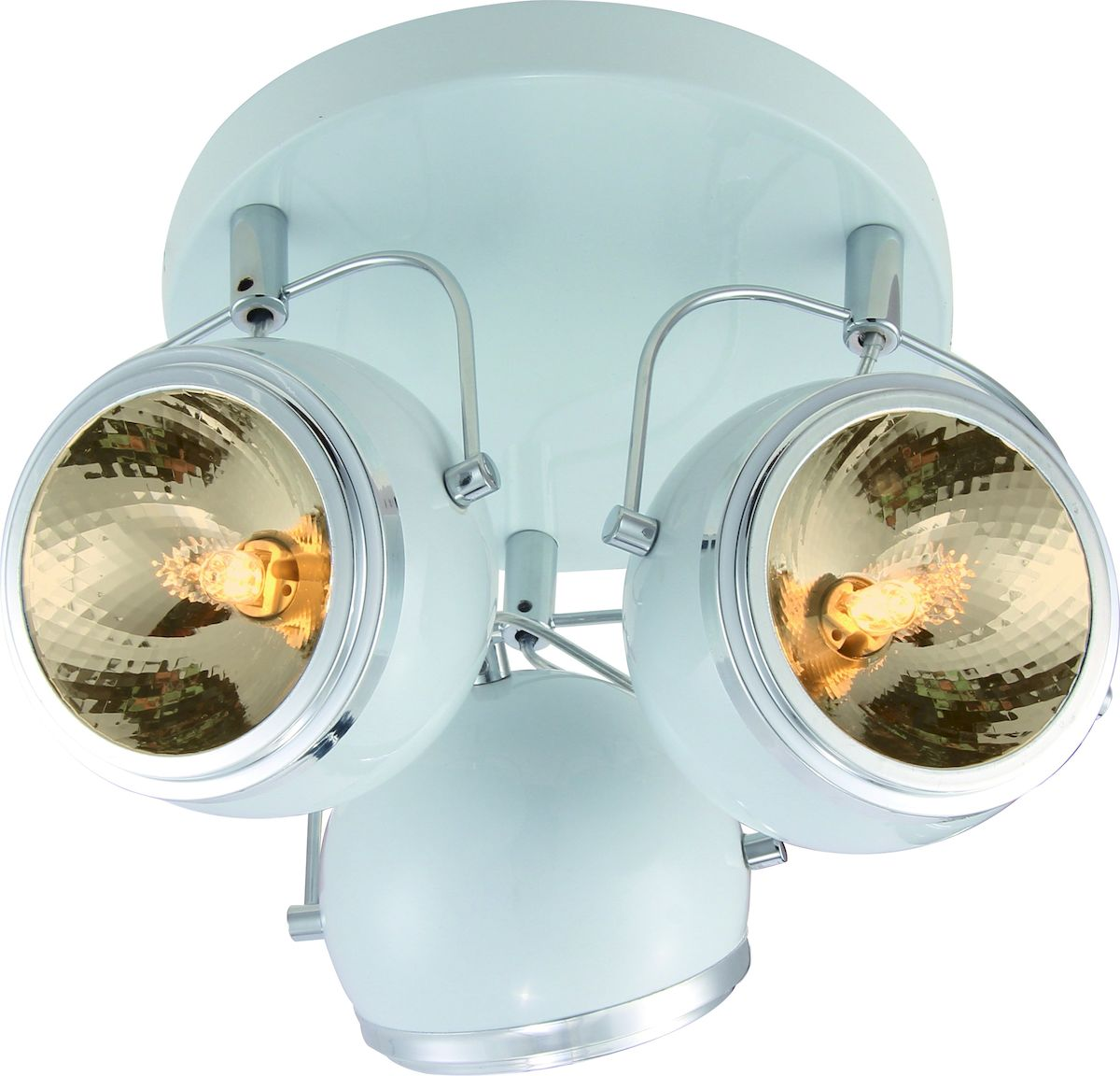 Светильник потолочный Arte Lamp ORBITER A4508PL-3WH спот 98 a4508pl 3wh arte lamp 1194386