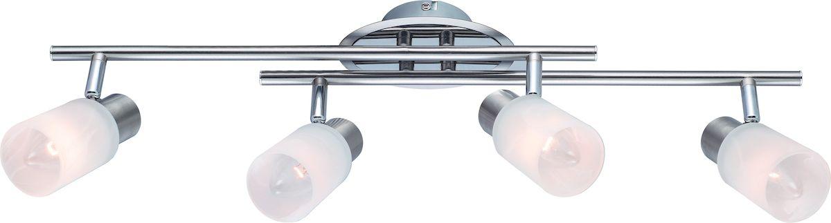 Светильник потолочный Arte Lamp Cavalletta. A4510PL-4SSA4510PL-4SSСветильник Arte Lamp Cavalletta поможет создать в вашем доме атмосферу уюта и комфорта. Благодаря высококачественным материалам он практичен в использовании и отлично работает на протяжении долгого периода времени. Материал плафонов: стекло, металл гальванизированный.Количество источников света: 4.Мощность источника света: 40 Вт.Цоколь: E14.Напряжение: 220В.Площадь освещения: 6 м2.