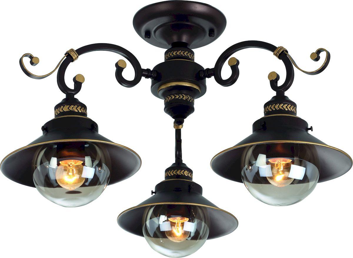 Светильник потолочный Arte Lamp GRAZIOSO A4577PL-3CK