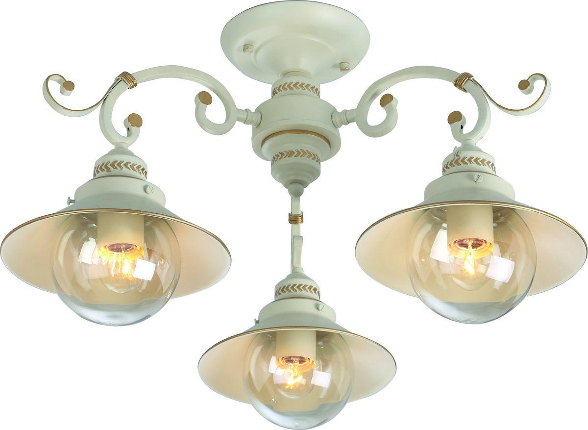 Светильник потолочный Arte Lamp GRAZIOSO A4577PL-3WG мормышка вольфрамовая asseri шар с ушком цвет медный диаметр 3 5 мм вес 0 4 г 5 шт