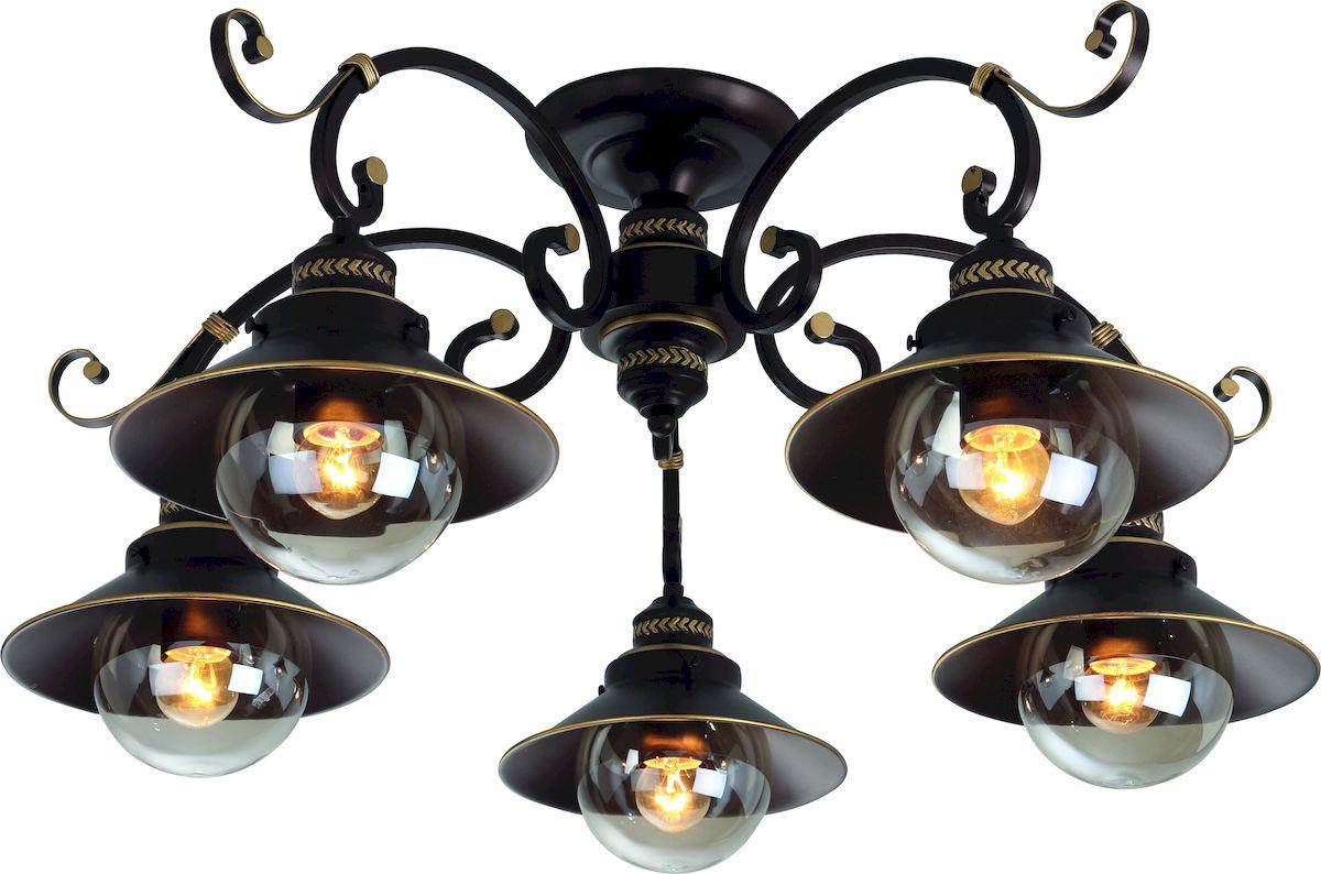 Светильник потолочный Arte Lamp GRAZIOSO A4577PL-5CK