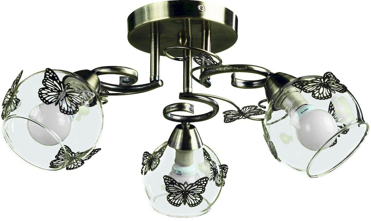 Светильник потолочный Arte Lamp ALESSANDRA A5004PL-3AB люстра на штанге arte lamp alessandra a5004pl 3ab