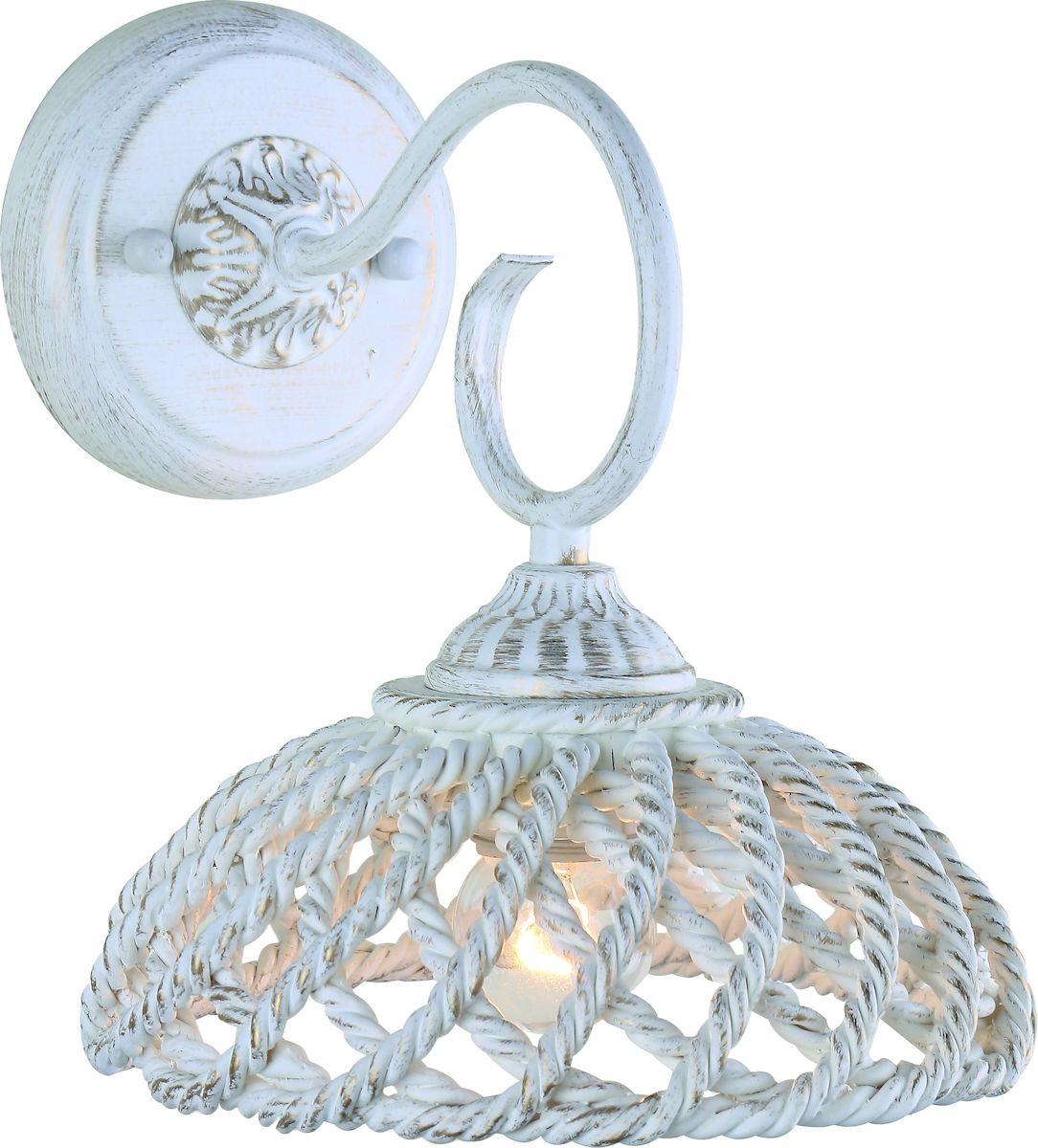 Светильник настенный Arte Lamp TWISTED A5358AP-1WGA5358AP-1WG