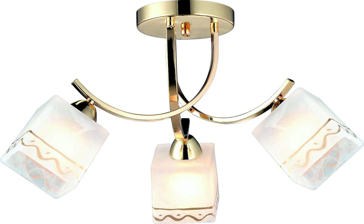 Светильник потолочный Arte Lamp MODELLO A6119PL-3GO люстра на штанге arte lamp modello a6119pl 5go