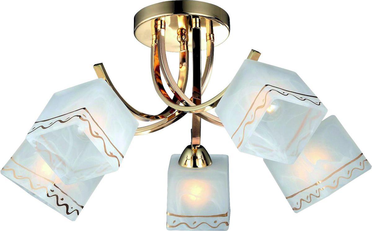 Светильник потолочный Arte Lamp MODELLO A6119PL-5GO люстра на штанге arte lamp modello a6119pl 5go