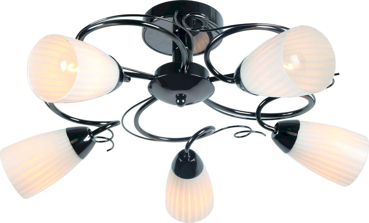 Светильник потолочный Arte Lamp ALESSIA A6545PL-5BC люстра на штанге arte lamp alessia a6545pl 3bc