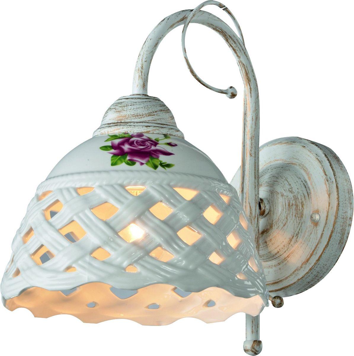 Светильник настенный Arte Lamp WICKER A6616AP-1WGA6616AP-1WG