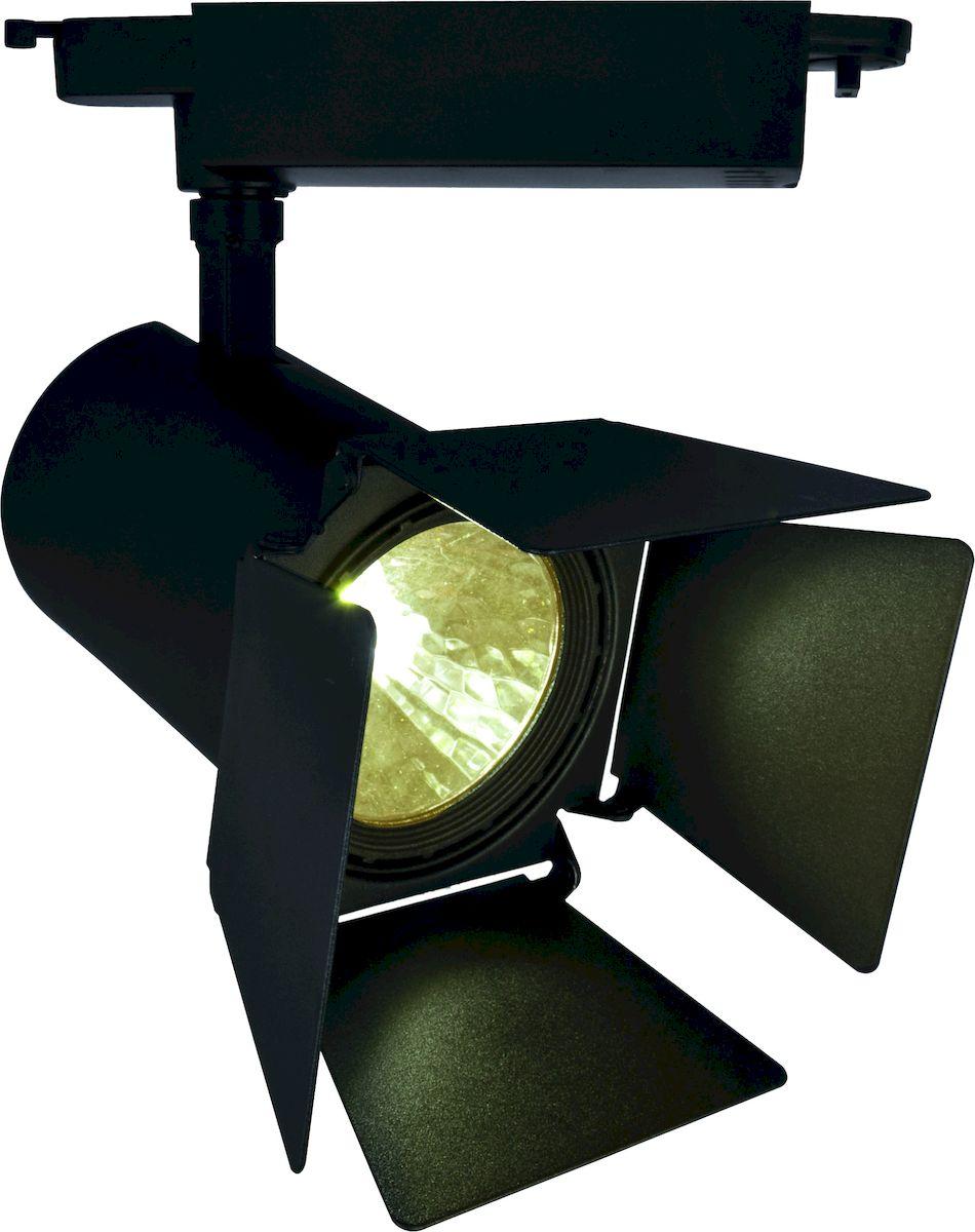 Светильник потолочный Arte Lamp Track Lights A6730PL-1BKA6730PL-1BK