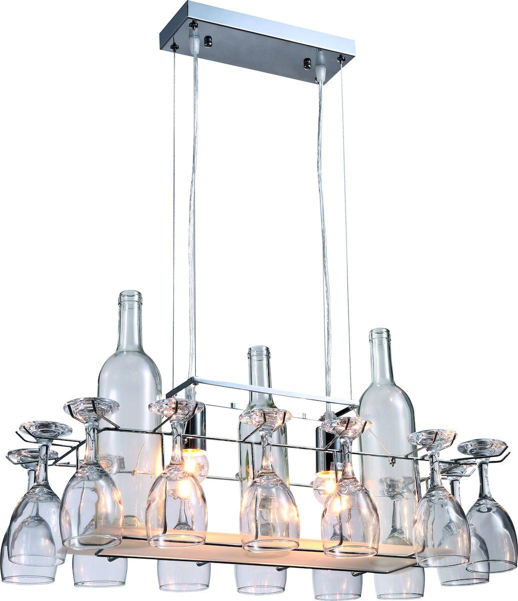 Светильник подвесной Arte Lamp Bancone A7043SP-2CCA7043SP-2CCСветильник Arte Lamp Bancone поможет создать в вашем доме атмосферу уюта и комфорта. Благодаря высококачественным материалам он практичен в использовании и отлично работает на протяжении долгого периода времени.