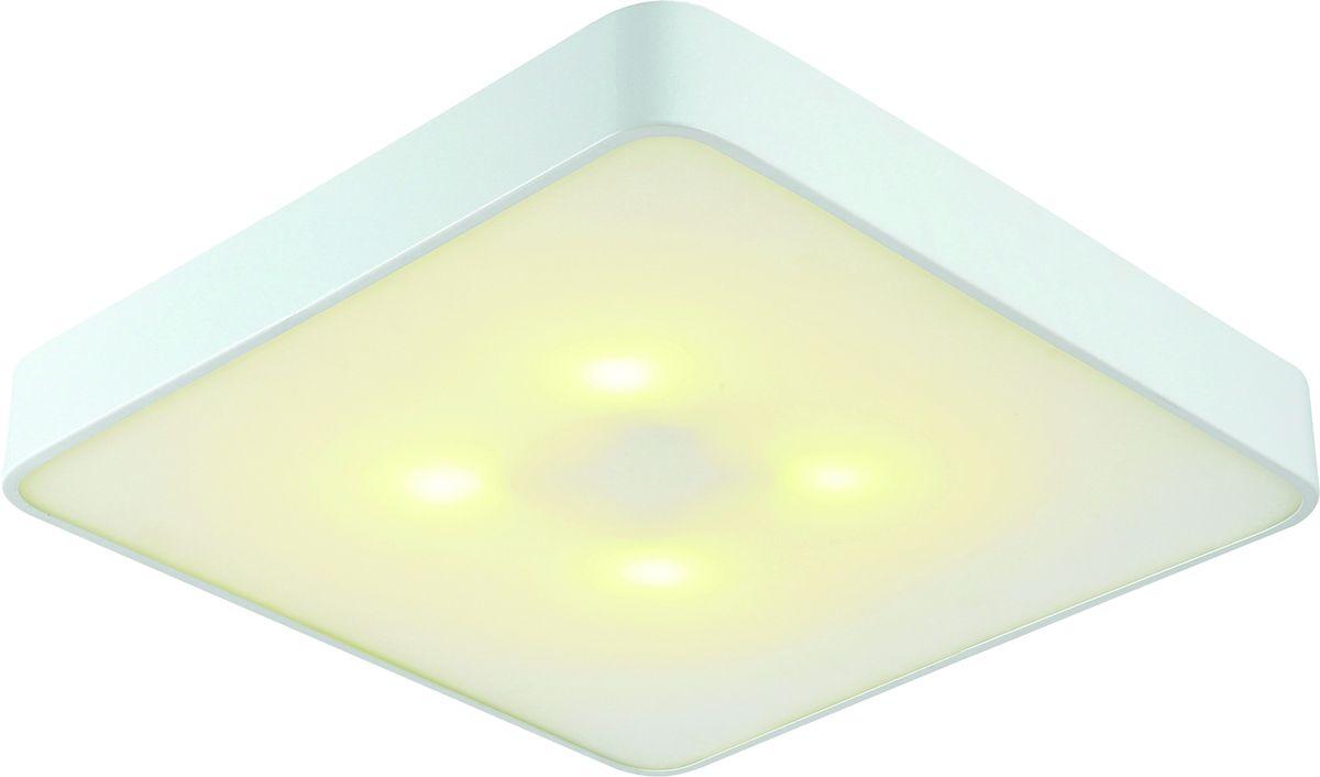 Светильник потолочный Arte Lamp Cosmopolitan. A7210PL-4WHA7210PL-4WHСветильник Arte Lamp Lamp Cosmopolitan поможет создать в вашем доме атмосферу уюта и комфорта. Благодаря высококачественным материалам он практичен в использовании и отлично работает на протяжении долгого периода времени. Материал: металл, стекло.Количество источников света: 4.Мощность источника света: 60 Вт.Цоколь: E27.Напряжение: 220В.