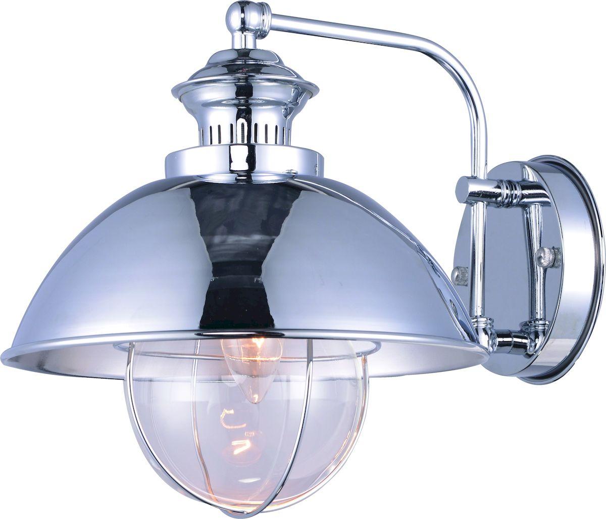 Светильник настенный Arte Lamp Nautilus, цвет: зеребристый. A8024AP-1CCA8024AP-1CCСветильник Arte Lamp Nautilus поможет создать в вашем доме атмосферу уюта и комфорта. Благодаря высококачественным материалам он практичен в использовании и отлично работает на протяжении долгого периода времени. Цоколь Е27, 1 шт, 60 Вт. Пылевлагозащита: IP20.