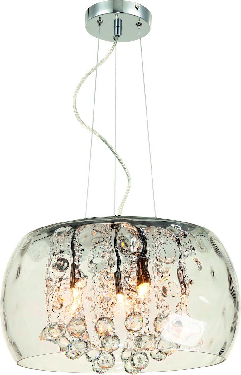 """Светильник Arte Lamp """"Lacrima"""" поможет создать в вашем доме атмосферу уюта и комфорта.  Благодаря высококачественным материалам он практичен в использовании и отлично работает  на протяжении долгого периода времени.  Материал плафонов: стекло, металл гальванизированный . Количество источников света: 6. Мощность источника света: 33 Вт. Цоколь: E9. Напряжение: 220В. Площадь освещения: 7 м2."""