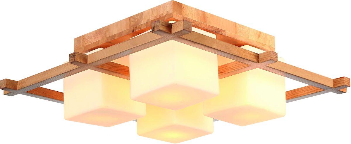 Светильник потолочный Arte Lamp WOODS A8252PL-4BR