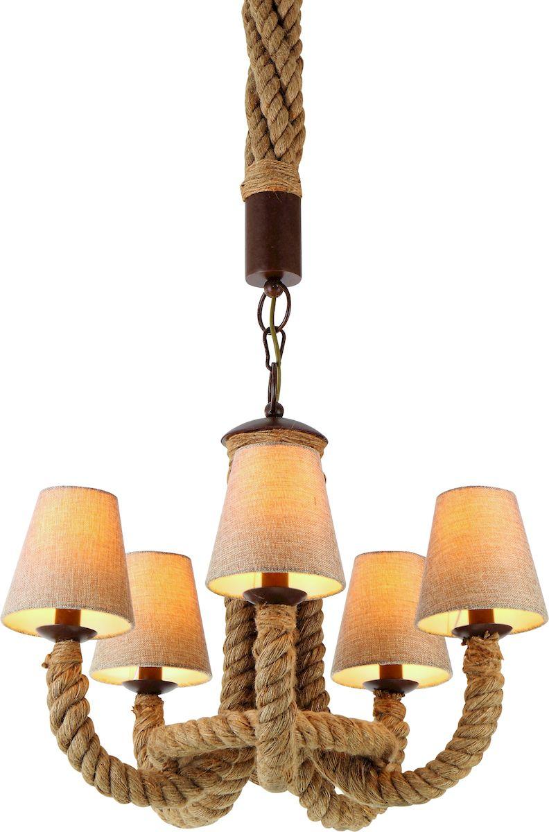 Светильник подвесной Arte Lamp Corda A8958LM-5BR люстра на штанге arte lamp circolo a9519lm 5br