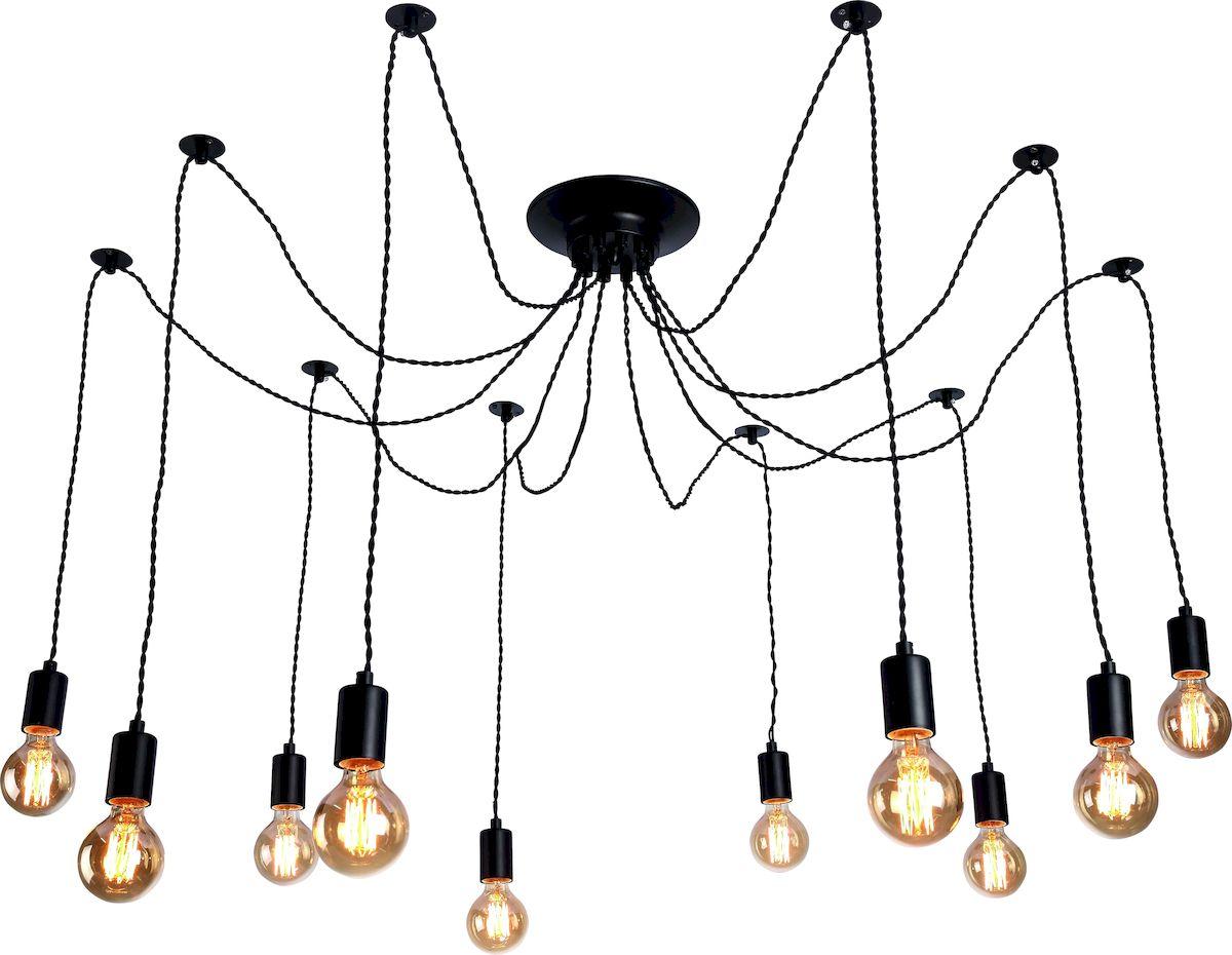 Светильник подвесной Arte Lamp FUORI A9184SP-10BKA9184SP-10BK