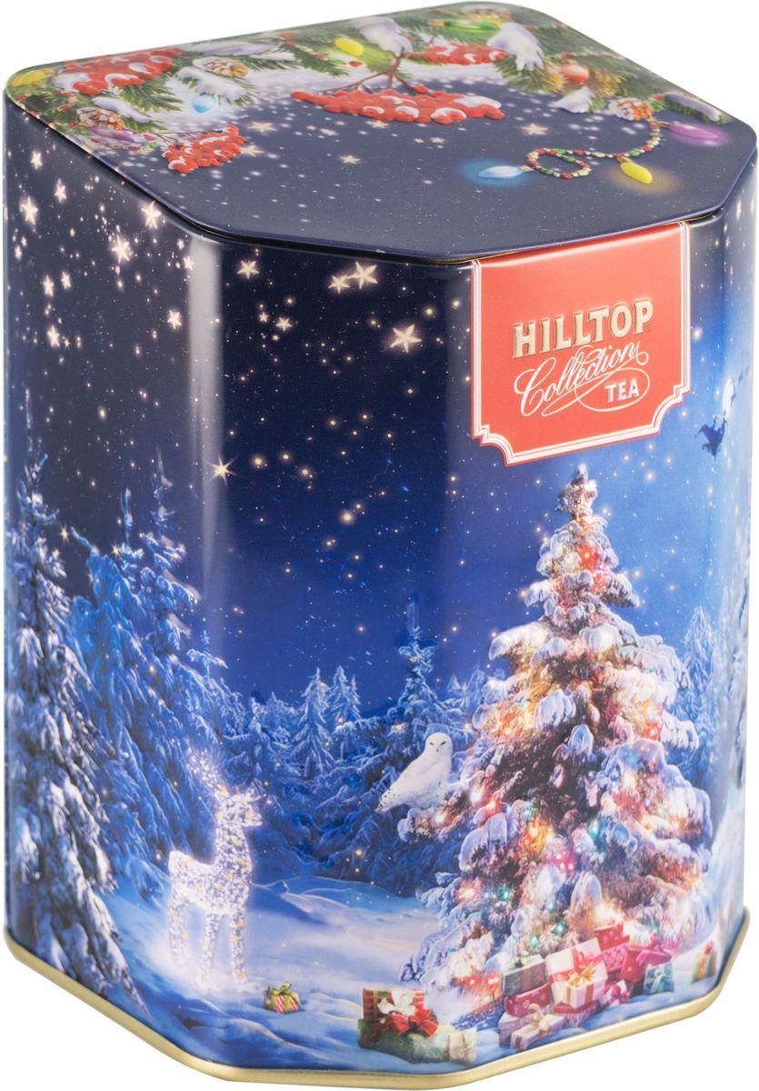 Hilltop Сказочный лес Эрл Грей ароматизированный листовой чай, 100 г ароматизированный чёрный чай эрл грей голубой цветок 100 г