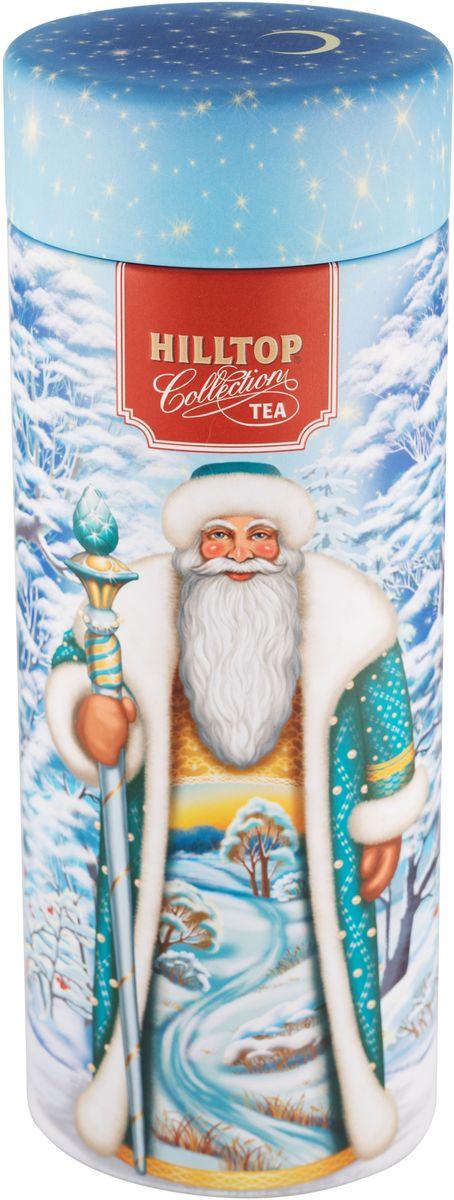Hilltop Зимний день Эрл Грей ароматизированный листовой чай, 100 г mabroc эрл грей чай черный листовой 100 г