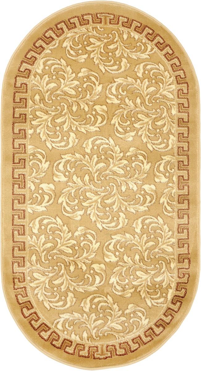 Ковер Kamalak Tekstil, овальный, 80 x 150 см. УК-0281