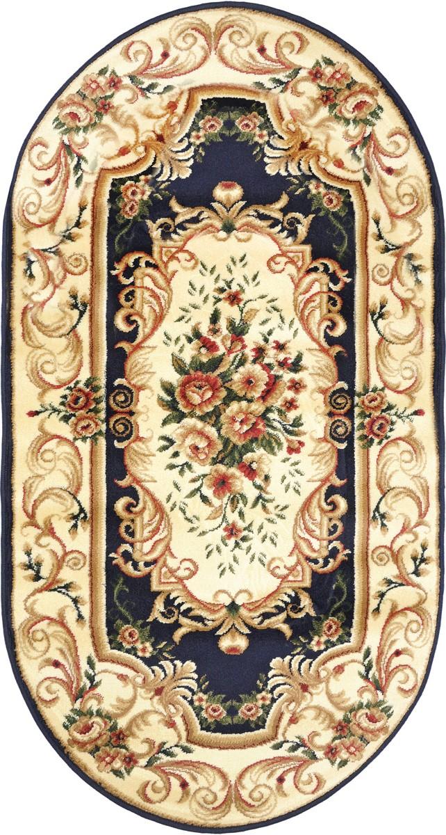 """Ковер """"Kamalak Tekstil"""", овальный, 80 x 150 см. УК-0364"""