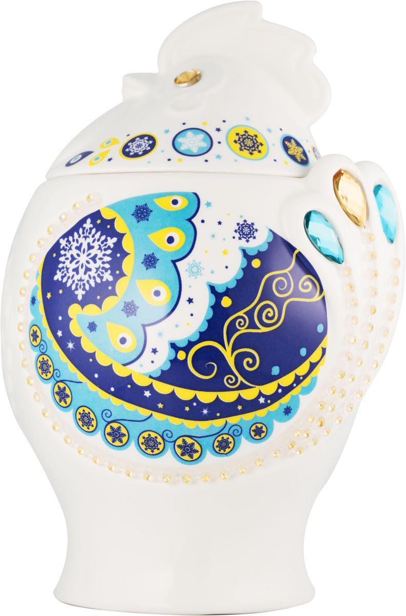 Hilltop Символ года Цейлонский бриз черный листовой чай, 100 г (синий)4607099307674Чай Цейлонский бриз - Крупнолистовой черный байховый чай с легкой терпкой нотой и янтарным цветом