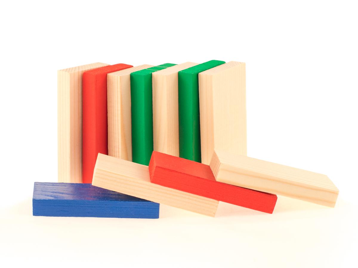 Развивающие деревянные игрушки Конструктор Д167б деревянные игрушки теремок геометрические весы