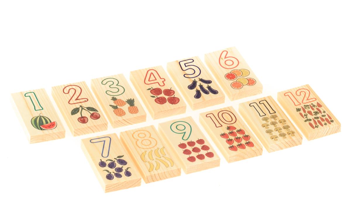 Развивающие деревянные игрушки Обучающая игра Цифры и счет развивающие деревянные игрушки кубики животные