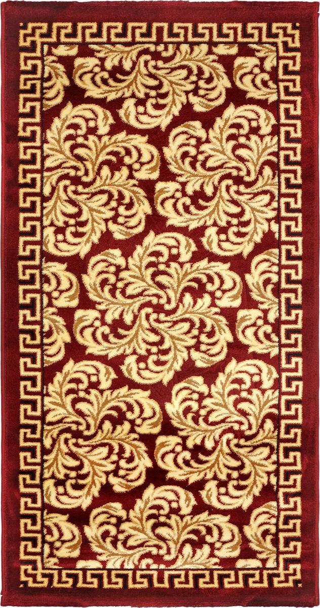 Ковер Kamalak Tekstil, прямоугольный, 80 x 150 см. УК-0298УК-0298Ковер Kamalak Tekstil изготовлен из прочного синтетического материала heat-set, улучшенного варианта полипропилена (эта нить получается в результате его дополнительной обработки). Полипропилен износостоек, нетоксичен, не впитывает влагу, не провоцирует аллергию. Структура волокна в полипропиленовых коврах гладкая, поэтому грязь не будет въедаться и скапливаться на ворсе. Практичный и износоустойчивый ворс не истирается и не накапливает статическое электричество. Ковер обладает хорошими показателями теплостойкости и шумоизоляции. Оригинальный рисунок позволит гармонично оформить интерьер комнаты, гостиной или прихожей. За счет невысокого ворса ковер легко чистить. При надлежащем уходе синтетический ковер прослужит долго, не утратив ни яркости узора, ни блеска ворса, ни упругости. Самый простой способ избавить изделие от грязи - пропылесосить его с обеих сторон (лицевой и изнаночной). Влажная уборка с применением шампуней и моющих средств не противопоказана. Хранить рекомендуется в свернутом рулоном виде.