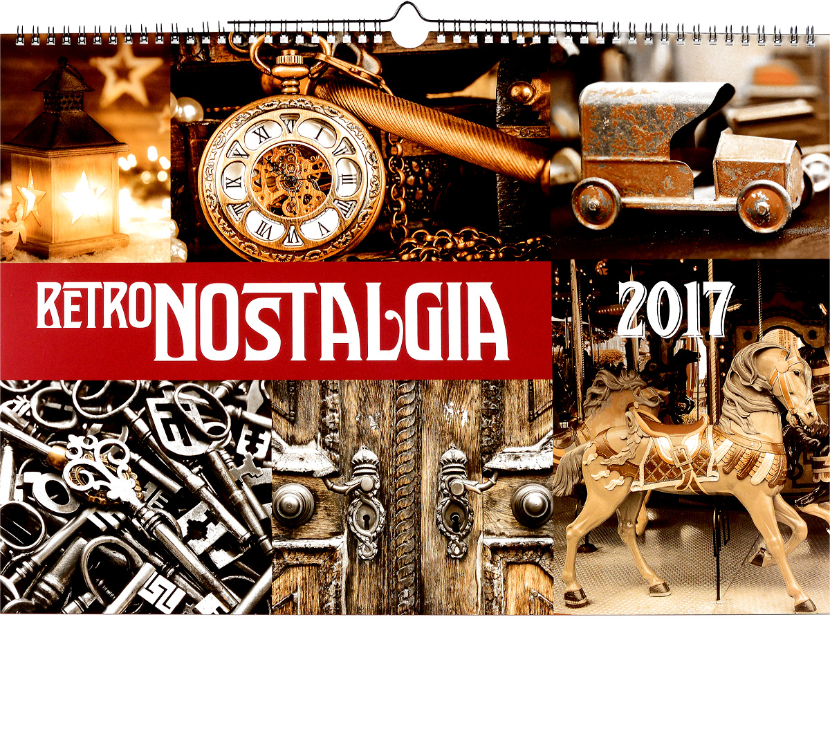 Календарь 2017 (на спирали). Ретро / Retro Nostalgia календарь на 2017 год на спирали retro nostalgia ретро 450 315мм