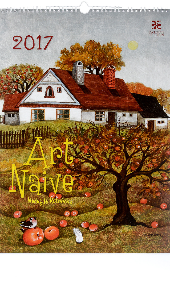 Календарь 2017 (на спирали). Art Naive оперное искусство 1dvd