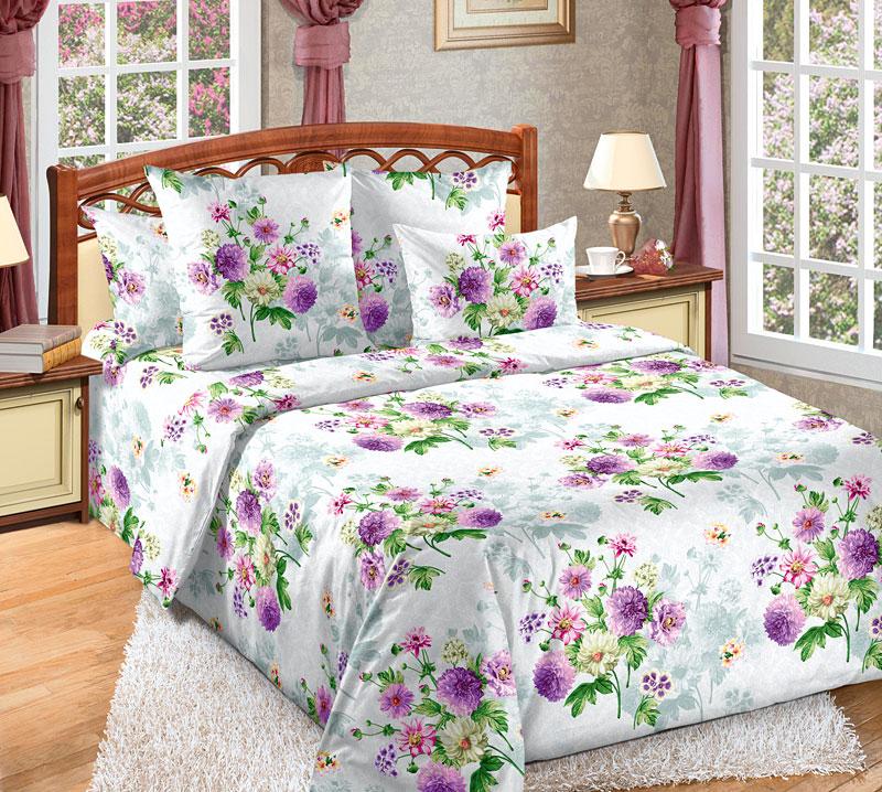 Комплект белья Текс-Дизайн Катрин 2, 2-спальный, наволочки 70x702100БПостельное белье Катрин 2 имеет привлекательный и неповторимый цветочный дизайн, центром которого стали букеты из бело-розовых георгинов и других садовых цветов. Бязь - хлопчатобумажная плотная ткань полотняного переплетения. Отличается прочностью и стойкостью к многочисленным стиркам. Бязь считается одной из наиболее подходящих тканей, для производства постельного белья и пользуется в России большим спросом.