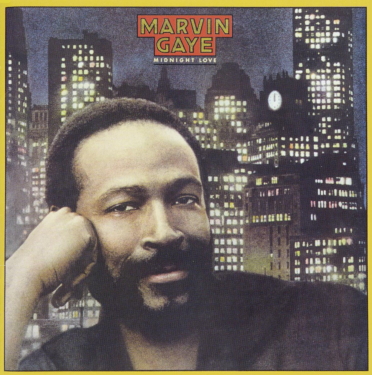 Марвин Гэй Marvin Gaye. Midnight Love marvin gaye marvin gaye here my dear 2 lp