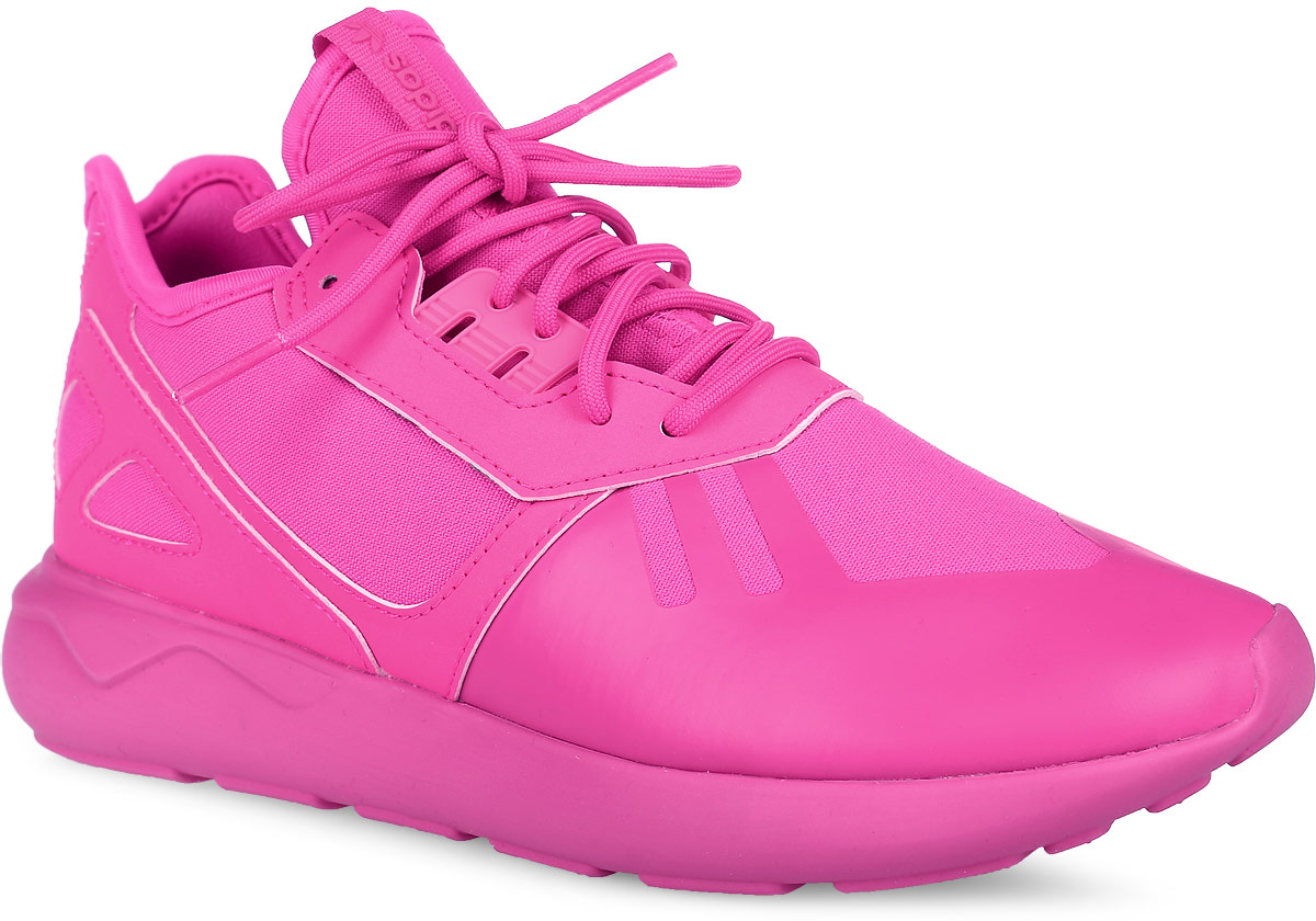 Кроссовки для девочки adidas Tubular Runner, цвет: розовый. S78726. Размер 3,5 (35)S78726Кроссовки Tubular Runner с уникальной подошвой из 90-х бросают вызов современности, сохраняя культовый силуэт беговой обуви. Эта модель выполнена из текстурного текстиля со вставками из натуральной кожи и резины, украшена узнаваемыми декоративными элементами Tubular. У изделия дышащая сетчатая подкладка и стелька, выполненная по технологии Ortholite. Подошва двойной плотности из легкого ЭВА в стилистике автомобильных шин. Ультрамодные кроссовки займут достойное место в коллекции вашего ребенка!