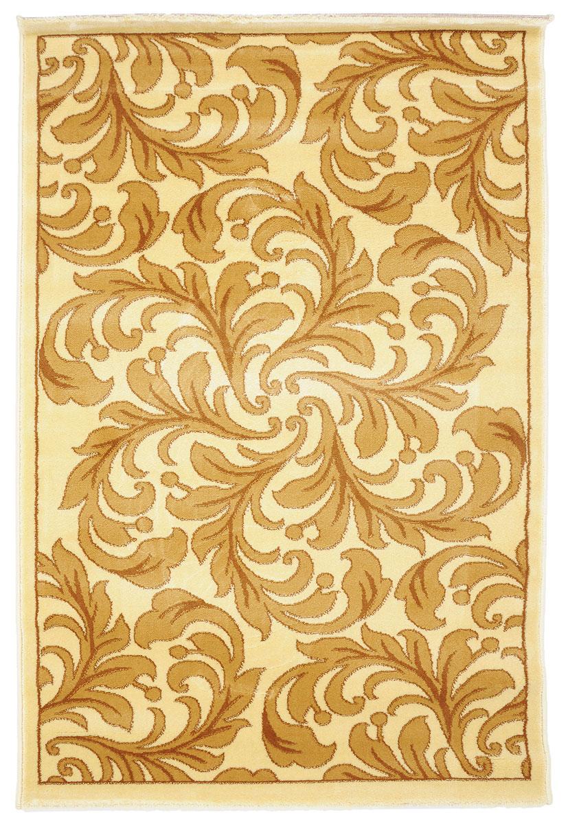 Ковер Kamalak Tekstil, прямоугольный, 100 x 150 см. УК-0314УК-0314Ковер Kamalak Tekstil изготовлен из прочного синтетического материала heat-set, улучшенного варианта полипропилена (эта нить получается в результате его дополнительной обработки). Полипропилен износостоек, нетоксичен, не впитывает влагу, не провоцирует аллергию. Структура волокна в полипропиленовых коврах гладкая, поэтому грязь не будет въедаться и скапливаться на ворсе. Практичный и износоустойчивый ворс не истирается и не накапливает статическое электричество. Ковер обладает хорошими показателями теплостойкости и шумоизоляции. Оригинальный рисунок позволит гармонично оформить интерьер комнаты, гостиной или прихожей. За счет невысокого ворса ковер легко чистить. При надлежащем уходе синтетический ковер прослужит долго, не утратив ни яркости узора, ни блеска ворса, ни упругости. Самый простой способ избавить изделие от грязи - пропылесосить его с обеих сторон (лицевой и изнаночной). Влажная уборка с применением шампуней и моющих средств не противопоказана. Хранить рекомендуется в свернутом рулоном виде.