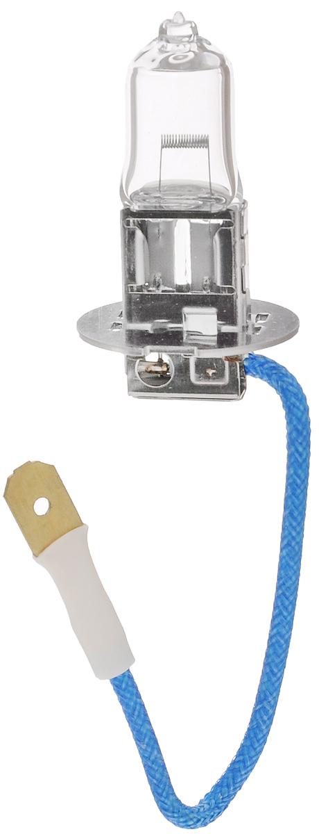 Лампа автомобильная галогенная Philips LongLife EcoVision, для фар, цоколь H3 (PK22s), 12V, 55W12336LLECOC1Автомобильная галогенная лампа Philips LongLife EcoVision произведена из запатентованного кварцевого стекла с УФ-фильтром Philips Quartz Glass. Кварцевое стекло Philips с УФ фильтром в отличие от обычного твердого стекла выдерживает гораздо большее давление смеси газов внутри колбы, что препятствует быстрому испарению вольфрама с нити накаливания. Кварцевое стекло выдерживает большой перепад температур, при попадании влаги на работающую лампу изделие не взрывается и продолжает работать. Срок службы лампы Philips LongLife EcoVision в 4 раза больше, чем у стандартной лампы, поэтому ее выбирают водители, которые хотят сократить затраты на техническое обслуживание своих автомобилей. С такими лампами водителям не нужно беспокоиться о замене ламп для головного освещения на протяжении 100 000 км. Автомобильные галогенные лампы Philips удовлетворят все нужды автомобилистов: дальний свет, ближний свет, передние противотуманные фары, передние и боковые указатели поворота, задние указатели поворота, стоп-сигналы, фонари заднего хода, задние противотуманные фонари, освещение номерного знака, задние габаритные/стояночные фонари, освещение салона.