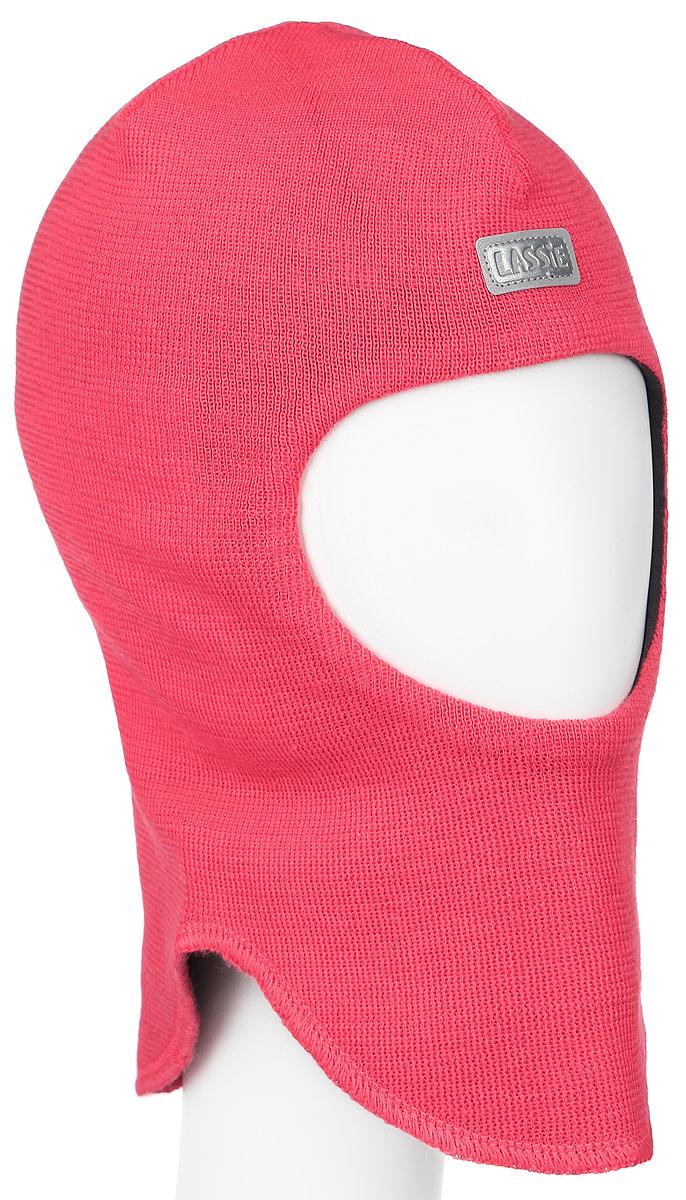 Балаклава детская Lassie, цвет: розовый. 718695-3380. Размер XS (44/46)718695-3380Детская шапка-шлем Reima Lassie идеально подойдет для прогулок в холодное время года. По своей конструкции шлем облегает головку ребенка, надежно защищая ушки, лобик и щечки от продуваний. Модель изготовлена из эластичной и мягкой смеси шерсти и акрила, она мягкая и идеально прилегает к голове. Мягкая подкладка выполнена из хлопка с добавлением эластана, поэтому шапка хорошо сохраняет тепло и обладает отличной гигроскопичностью (не впитывает влагу, но проводит ее). Шерсть хорошо тянется и устойчива к сминанию.Изделие дополнено небольшой нашивкой с названием бренда. Ее также можно надевать под зимнюю шапку в холодную погоду или под спортивный шлем для удобства и дополнительной защиты.Модный жаккардовый узор добавляет образу изюминку!В ней ваш ребенок будет чувствовать себя уютно и комфортно. Уважаемые клиенты!Размер, доступный для заказа, является обхватом головы.